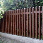衡阳水泥仿木栅栏供应商图片