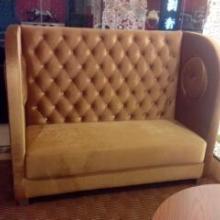 供应西餐咖啡厅高靠背卡座沙发,专业定制批发