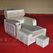 高档洗浴足疗沙发图片