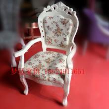 供应西餐厅酒店包房欧式椅子,实木框架-梦达家具