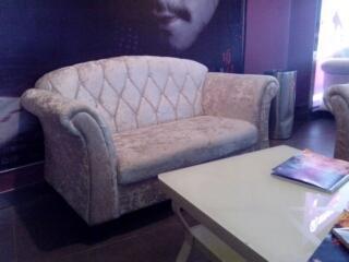 郑州咖啡厅卡座沙发03定制