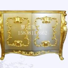 供应欧式金银箔玄关柜,做工细致-梦达家具