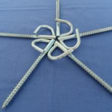 供应螺旋拉钩,环形拉钩,户外光缆施工配件图片