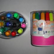桂林大量批发供应小学生文具可洗水彩笔、12色水彩笔、新款水彩笔