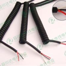 供应PVC强力伸缩线-专业生产PU弹簧线-TPU螺旋线批发