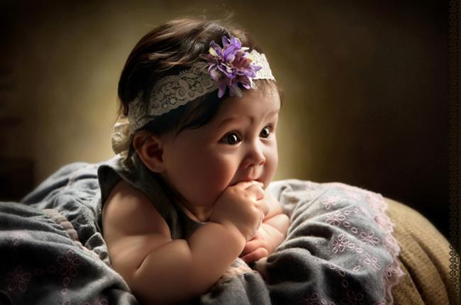 经典风格卡哇伊可爱小公主艺术照