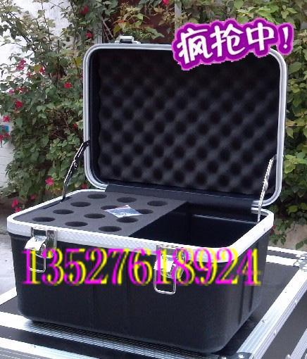 供应12支话筒箱ABS机柜咪头箱麦克风