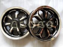 摩托车改装双色7爪轮毂轮圈图片