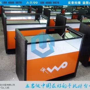 智能沃3G手机展示柜/图片