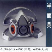 胶州3M6200防护毒面具图片