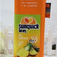 丹麦2L新的浓缩果汁菠萝味汁图片