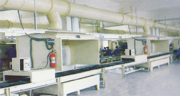 供应SL1008鞋底喷漆喷涂流水线厂家