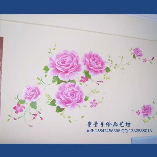 量量手绘画艺坊生产供应手绘墙画