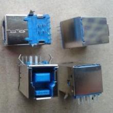 供应USB母座A型90度批发