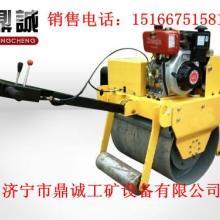 专业制造手扶式单轮压路机大轮径手扶式压路机报价小型振动压路机资料批发
