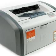 惠普1020黑白打印机图片