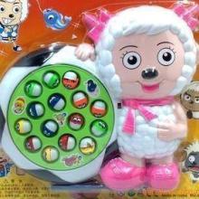 过家家玩具 喜羊羊电动钓鱼/益智玩具/钓鱼玩具/8694