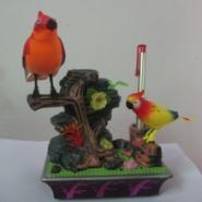 仿真电动声控鸟电动动物玩具图片