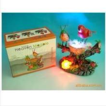 声控鸟(双鸟)闪光鸟BT8539 声控闪光鸟 声控玩具