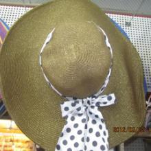 供应女式大沿帽大草帽遮阳帽大檐帽