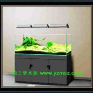 新款板式超白鱼缸图片