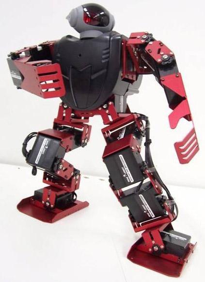智能人形机器人招投标机器人图片