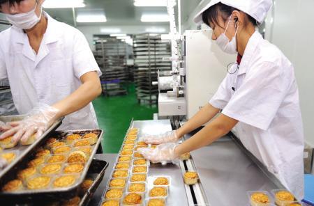 深圳市安琪月饼团购生产供应东莞安琪月饼团购批发 安琪月饼代工 -供