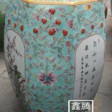 供应八角粉彩凉凳景德镇陶瓷