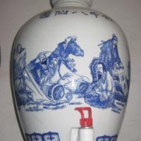 供应景德镇陶瓷酒坛,青花瓷酒瓶