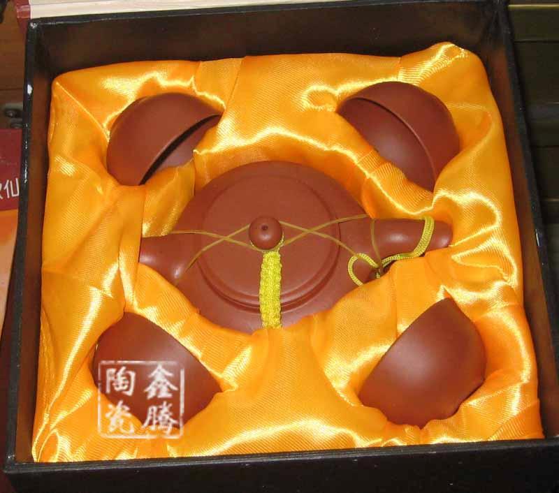 供应景德镇厂家定做紫砂茶具 青花功夫茶具