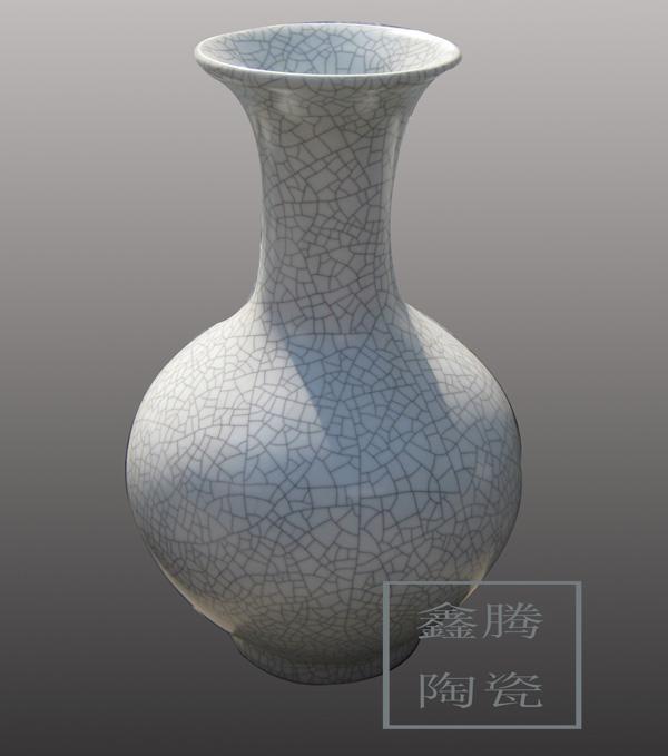 供应景德镇裂纹釉花瓶