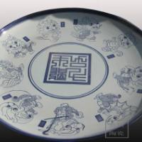 供应纪念瓷盘,礼品瓷盘,景德镇瓷盘