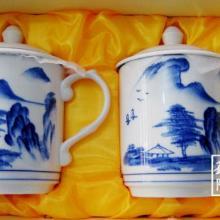 供应景德镇陶瓷礼品对杯批发,景德镇陶瓷礼品对杯生产厂家批发
