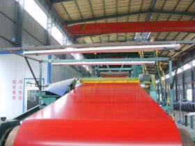 供应山东规模最大的彩钢板生产厂家