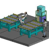 供应日本otc焊接机器人AII/FD系列0膜式壁焊接工作站