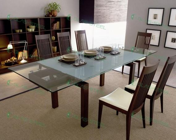 玻璃餐桌_玻璃餐桌供货商