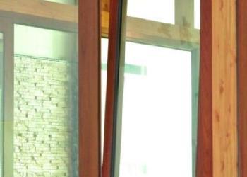 高档铝合金68内开上悬窗厂家图片
