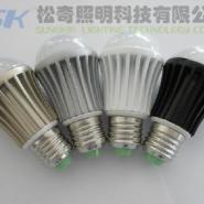 LED球泡灯LED节能灯泡3W/5W/7W图片