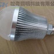 节能灯泡LED球泡灯7W/E27/E26/B22图片