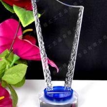 供应北京水晶奖杯奖牌厂家定做,北京企业年度销售冠军水晶奖杯厂家定做图片