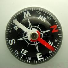 供应香水座指南针厂家批发生产/37mm半球精美环保指南针批发