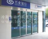 安装郸城三水感应自动门平移玻璃门图片