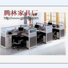 供应物美价廉屏风3人位组合,办公卡位,办公桌定制,多人位组合卡位图片