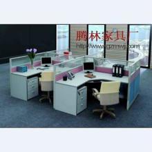 供应多人位组合屏风办公桌,四人位办公,职员办公桌图片,报价,广州家具厂低价直销批发
