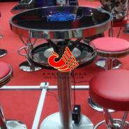 不锈钢吧椅吧桌/酒吧吧台吧椅订制图片