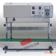 立式压痕印字连续薄膜封口机图片