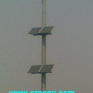 深圳耕谷阳太阳能立杆图片