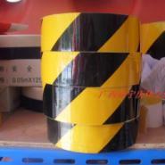 5公分黄黑反光膜警示胶带夜光胶带图片