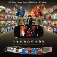 山水3D智能全触摸屏PSP游戏机图片