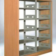 中山书架钢木书架校用书架可以定做图片